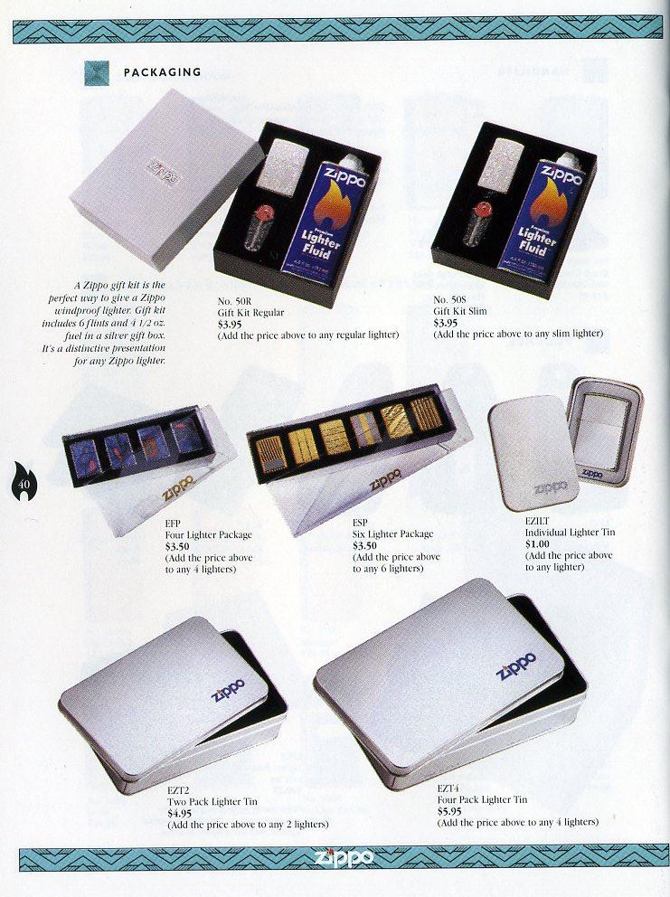 Catalogue ZIPPO Collection 1997 (version américaine) 4011