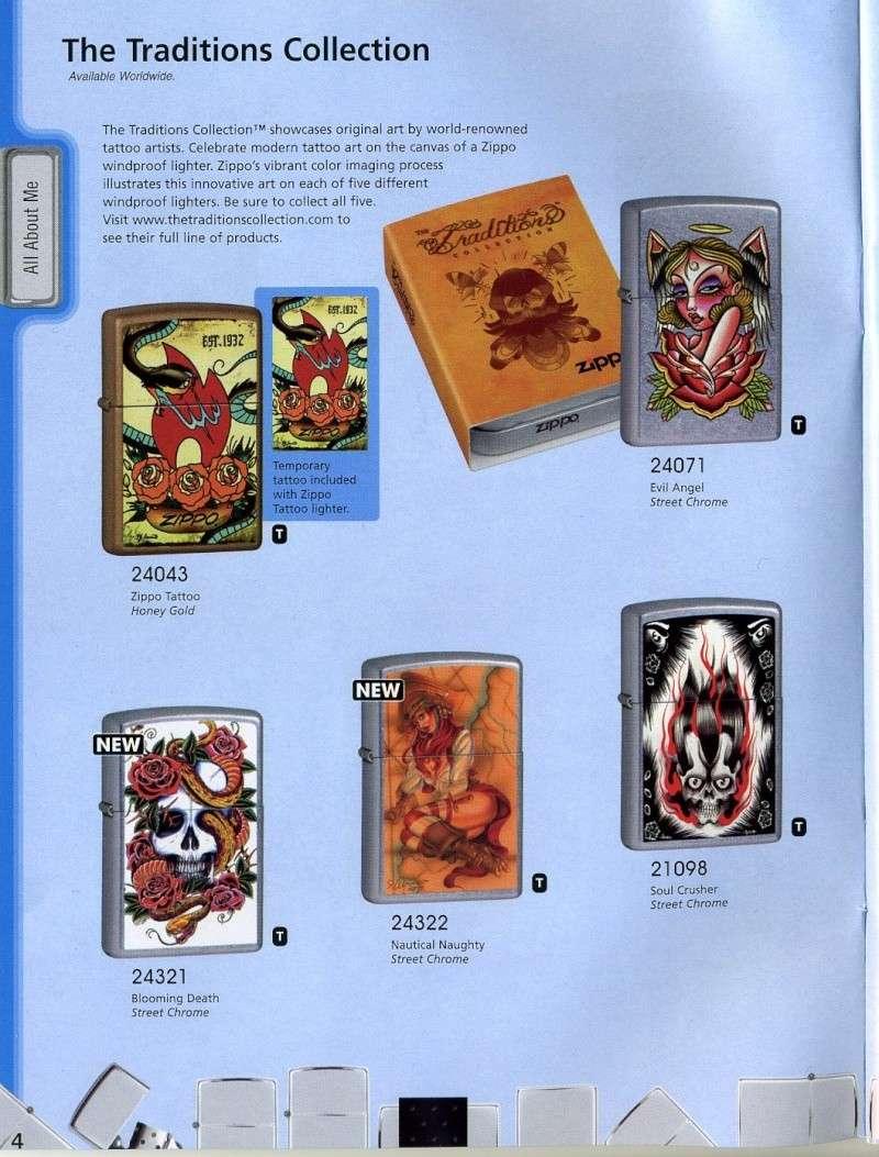 Catalogue ZIPPO 2008 Complete line (version américaine) 410