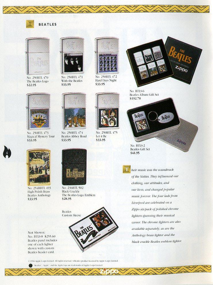 Catalogue ZIPPO Collection 1997 (version américaine) 411