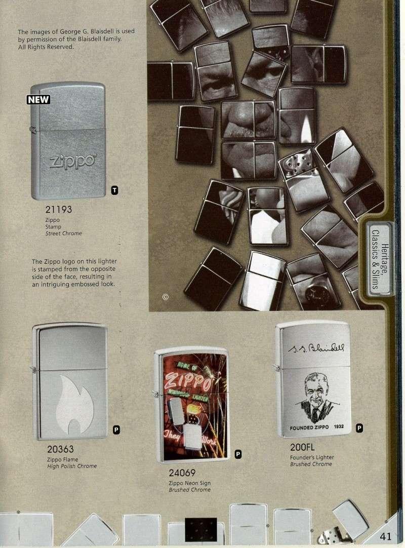 Catalogue ZIPPO 2008 Complete line (version américaine) 4110