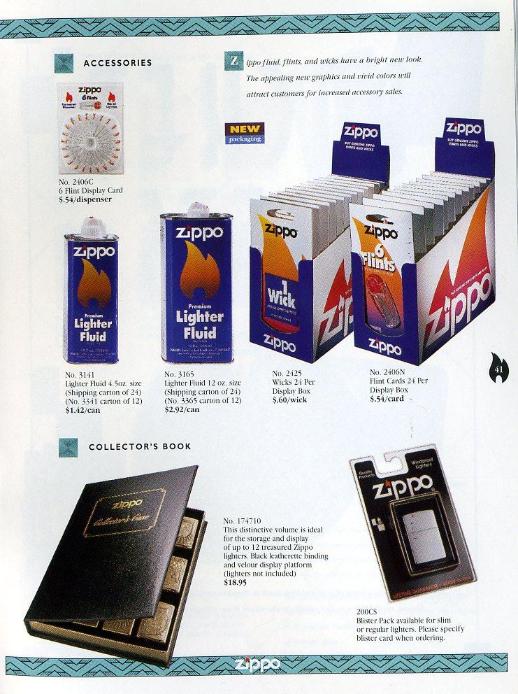 Catalogue ZIPPO Collection 1997 (version américaine) 4111
