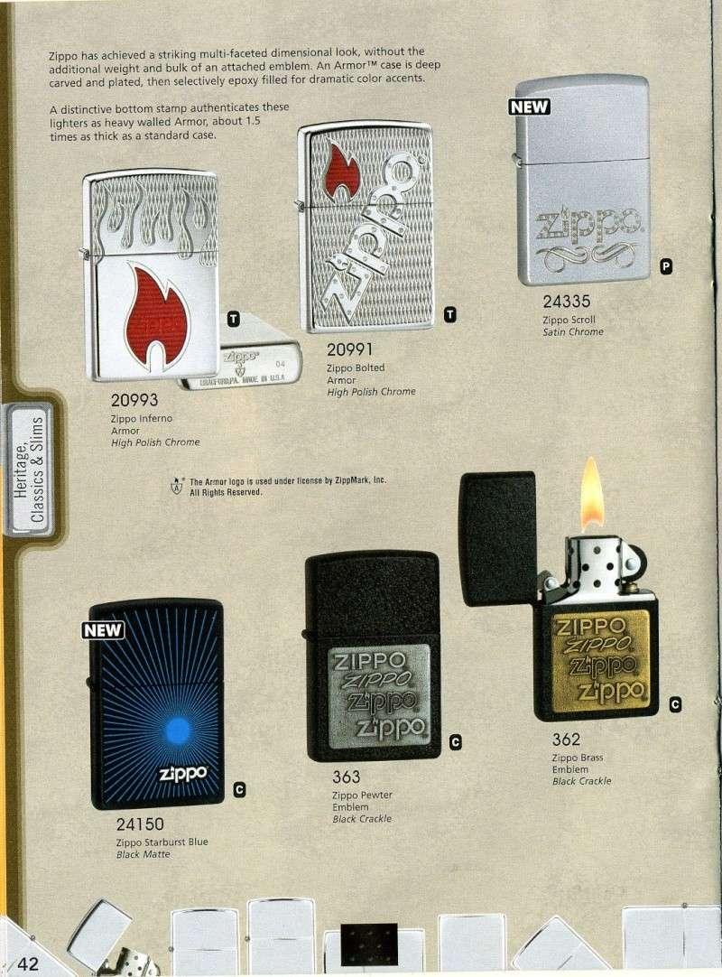 Catalogue ZIPPO 2008 Complete line (version américaine) 4210