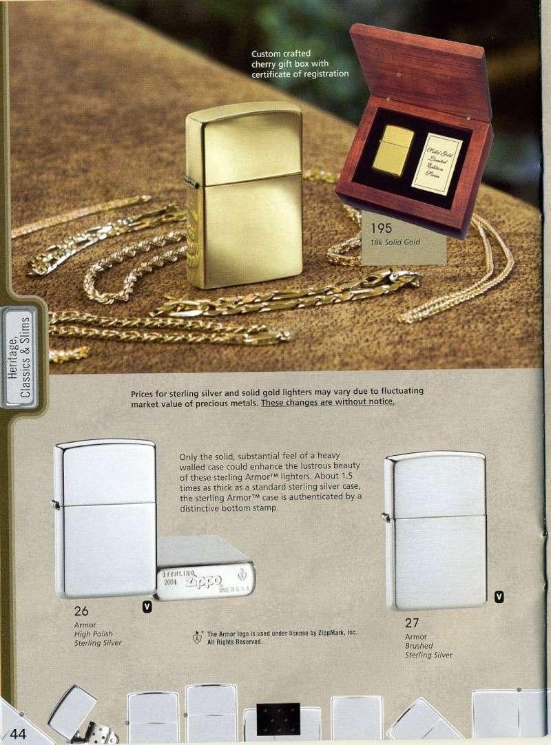 Catalogue ZIPPO 2008 Complete line (version américaine) 4410