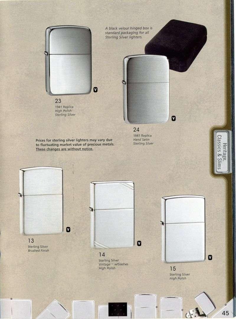 Catalogue ZIPPO 2008 Complete line (version américaine) 4510