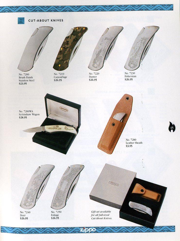 Catalogue ZIPPO Collection 1997 (version américaine) 4511
