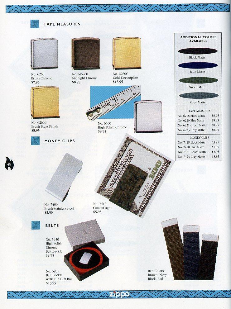 Catalogue ZIPPO Collection 1997 (version américaine) 4811