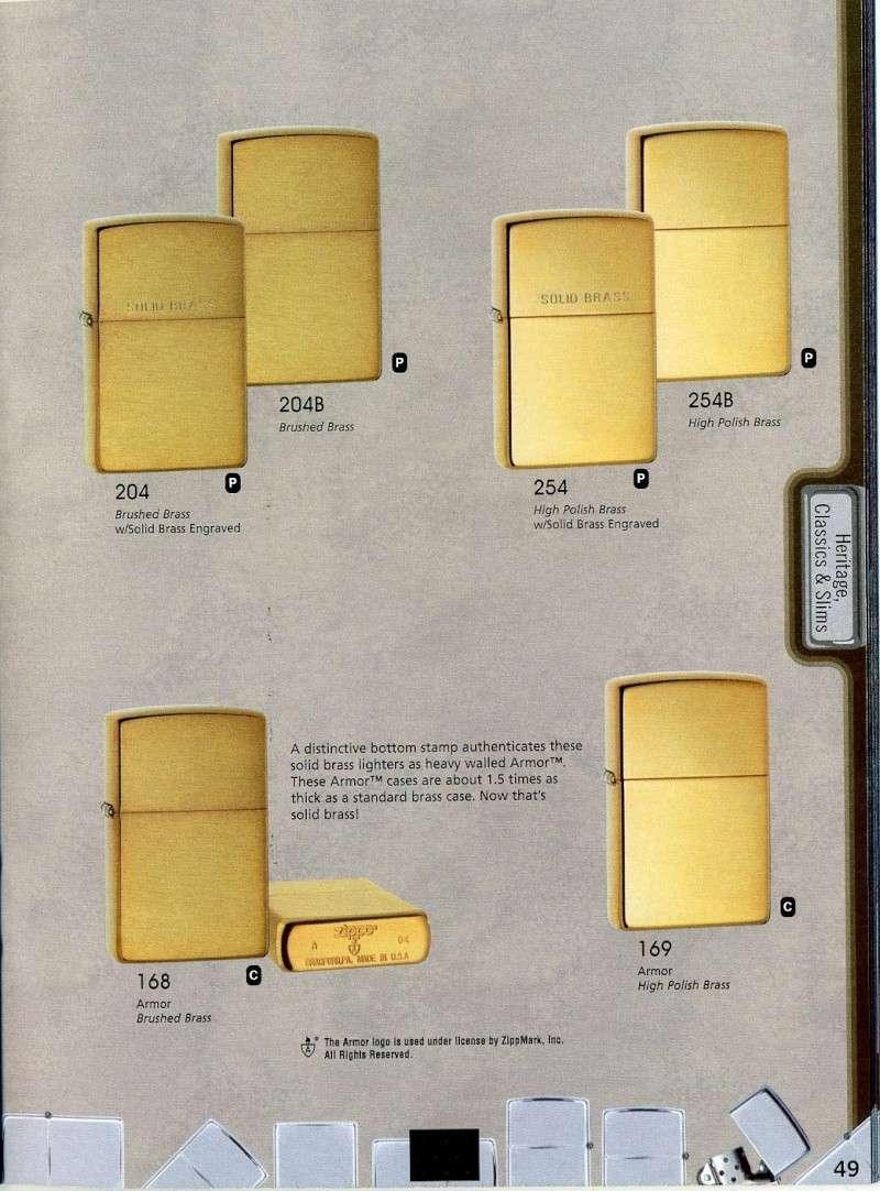 Catalogue ZIPPO 2008 Complete line (version américaine) 4910