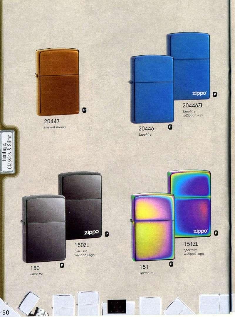 Catalogue ZIPPO 2008 Complete line (version américaine) 5010