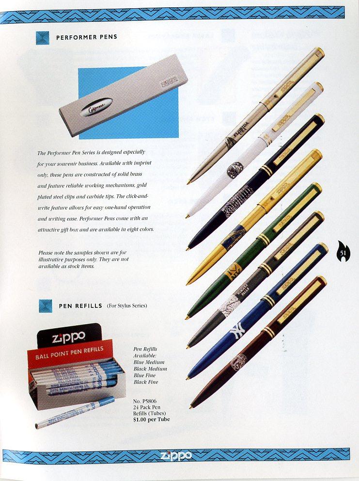 Catalogue ZIPPO Collection 1997 (version américaine) 5111