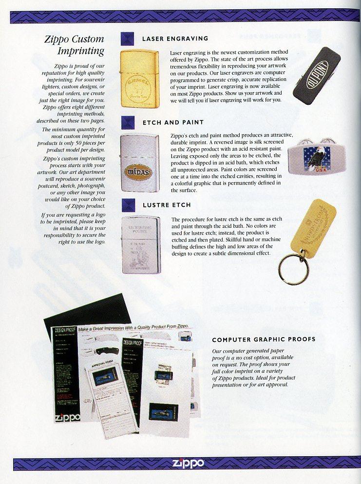 Catalogue ZIPPO Collection 1997 (version américaine) 5211