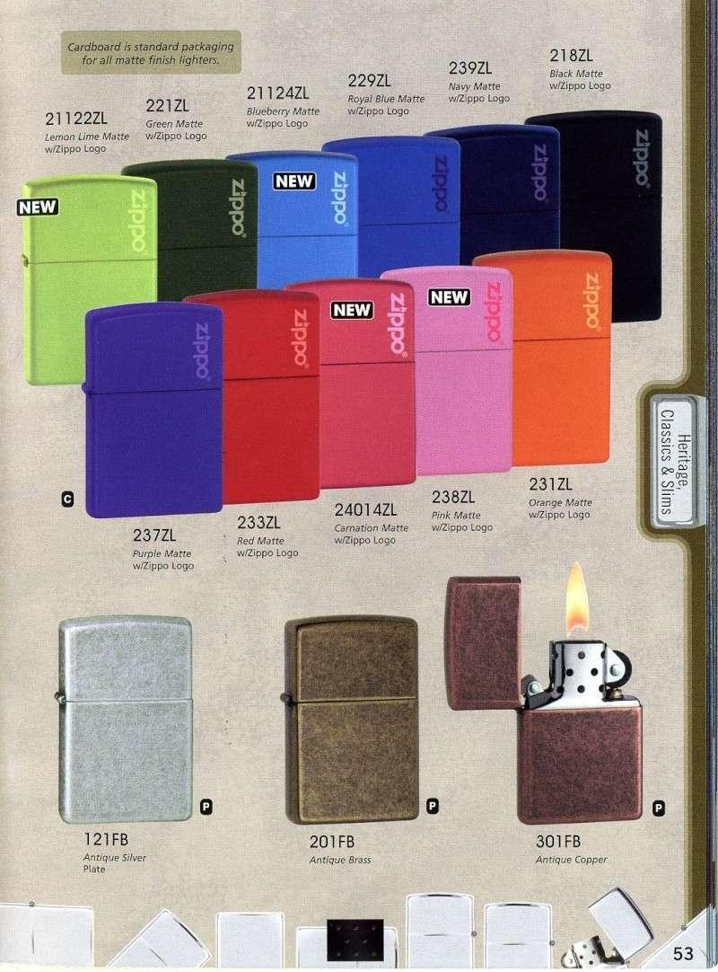 Catalogue ZIPPO 2008 Complete line (version américaine) 5310