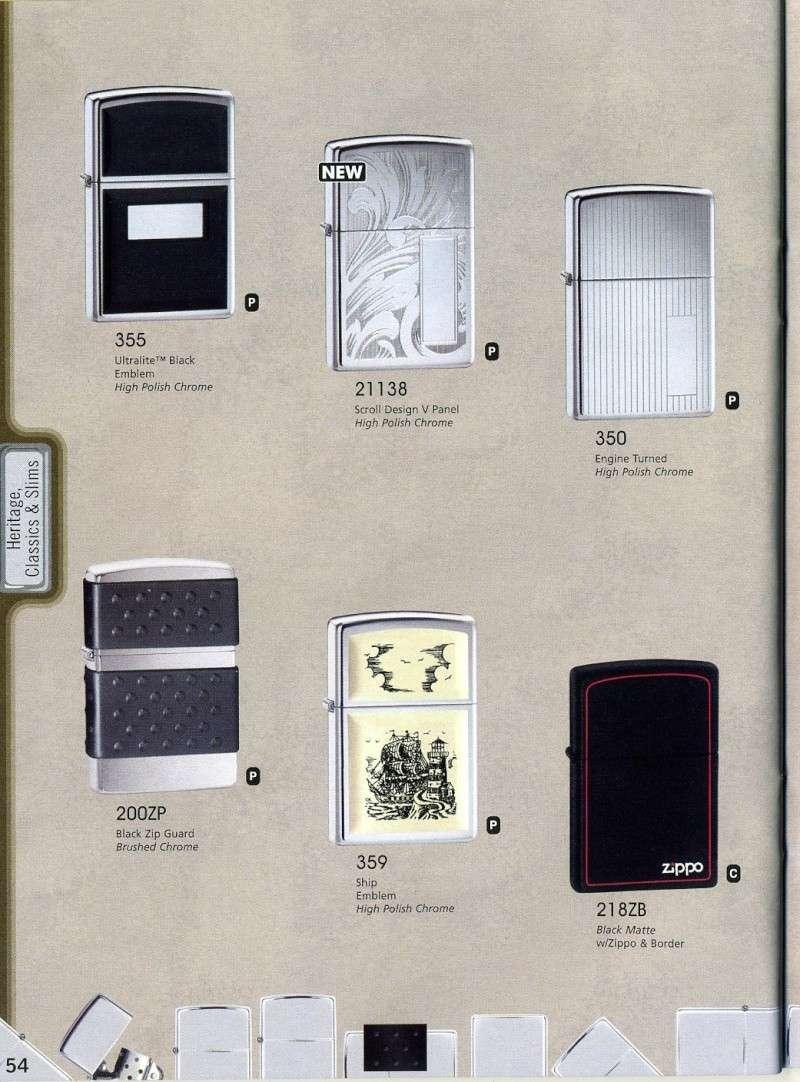 Catalogue ZIPPO 2008 Complete line (version américaine) 5410
