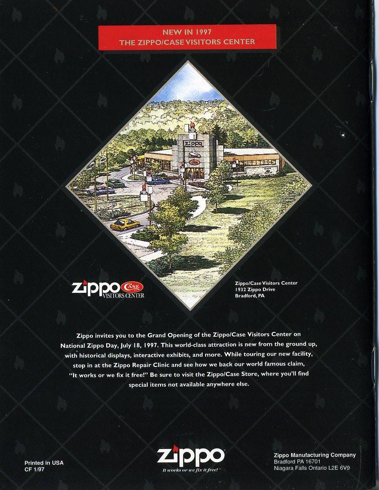 Catalogue ZIPPO Collection 1997 (version américaine) 5411