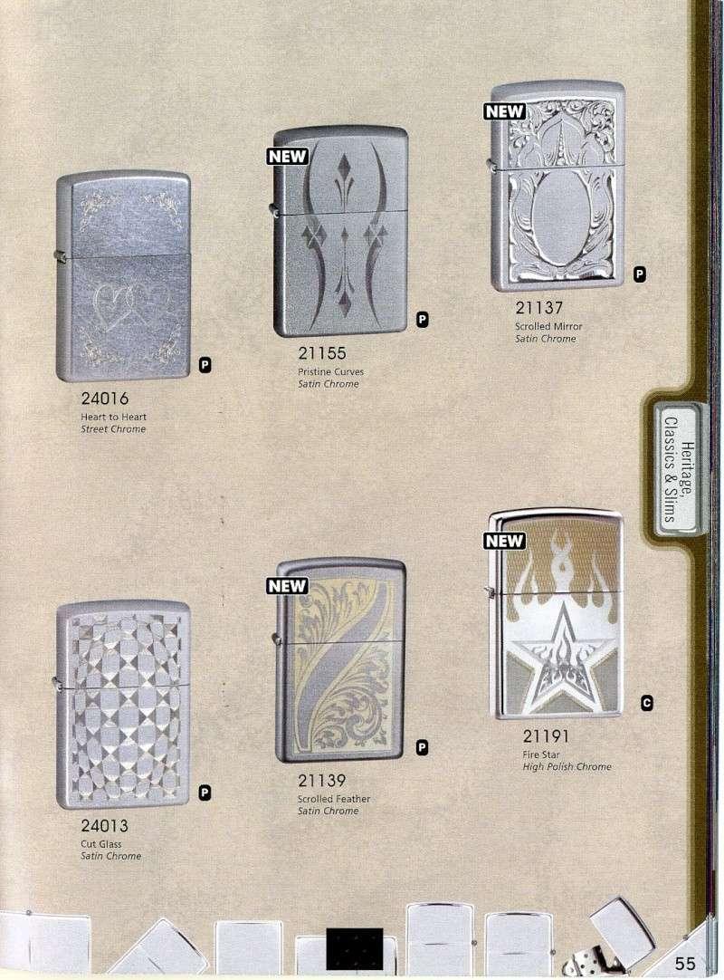 Catalogue ZIPPO 2008 Complete line (version américaine) 5510
