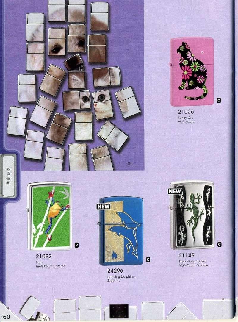 Catalogue ZIPPO 2008 Complete line (version américaine) 6010