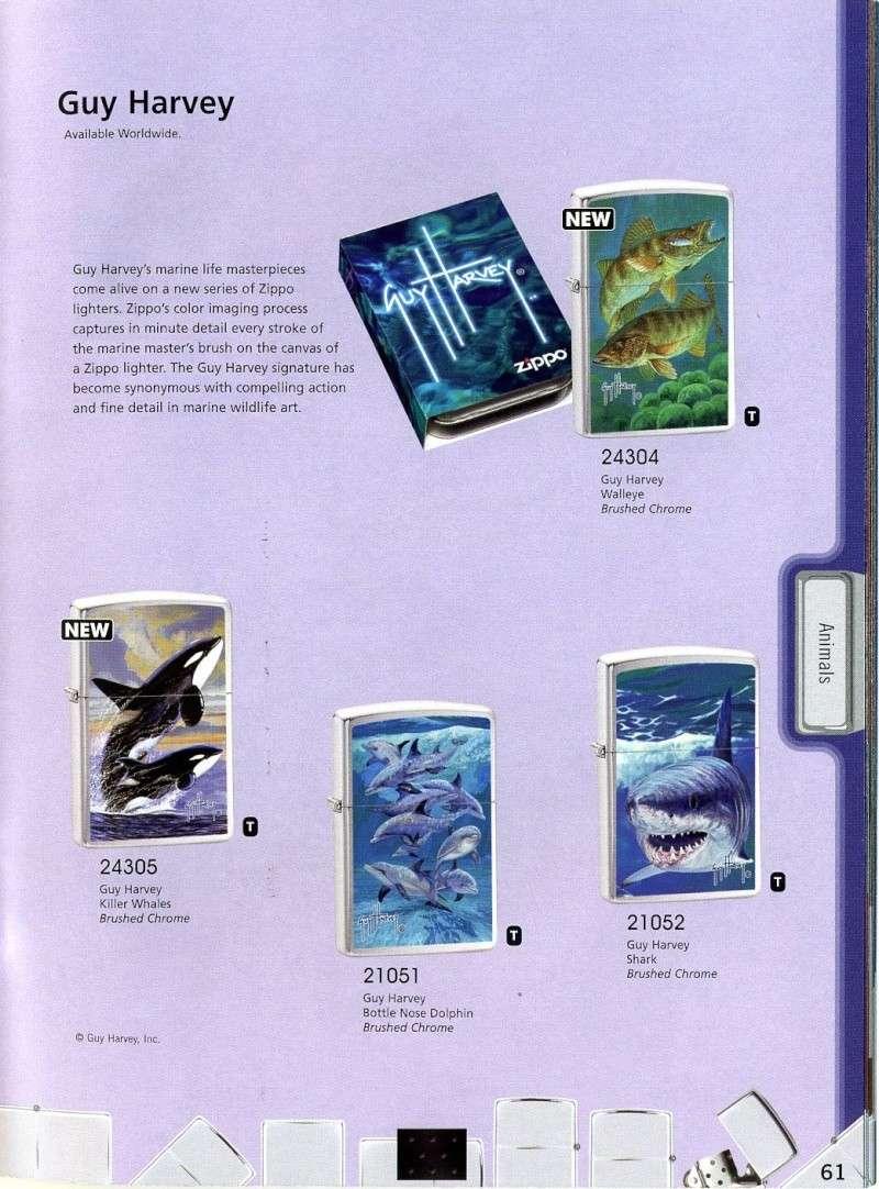 Catalogue ZIPPO 2008 Complete line (version américaine) 6110