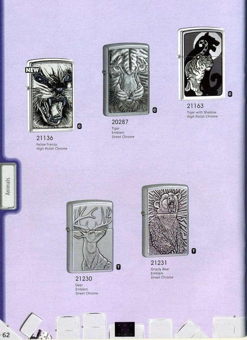 Catalogue ZIPPO 2008 Complete line (version américaine) 6210