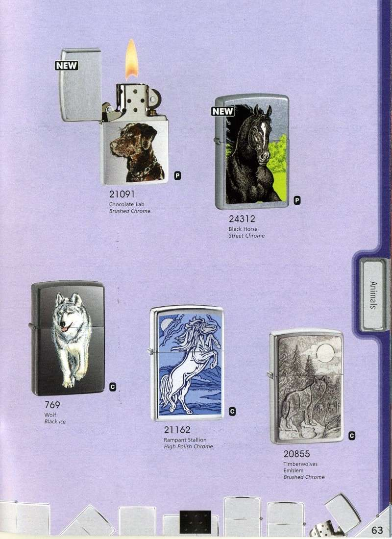 Catalogue ZIPPO 2008 Complete line (version américaine) 6310