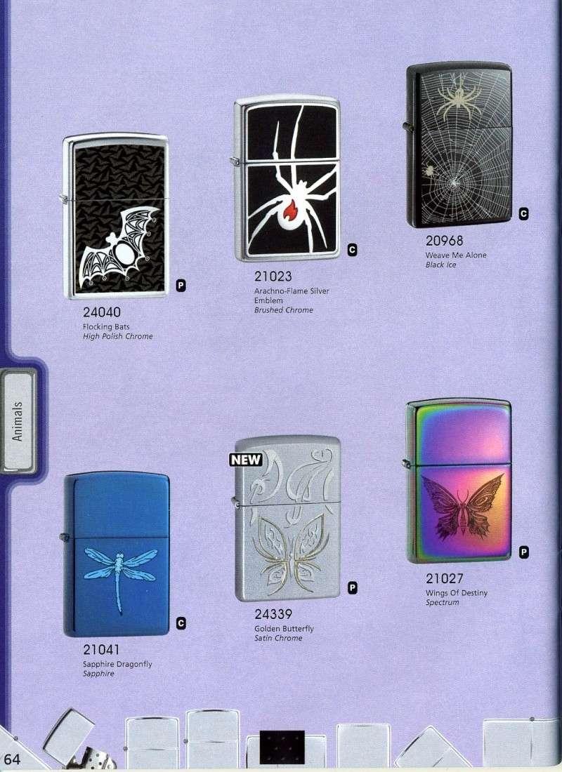 Catalogue ZIPPO 2008 Complete line (version américaine) 6410