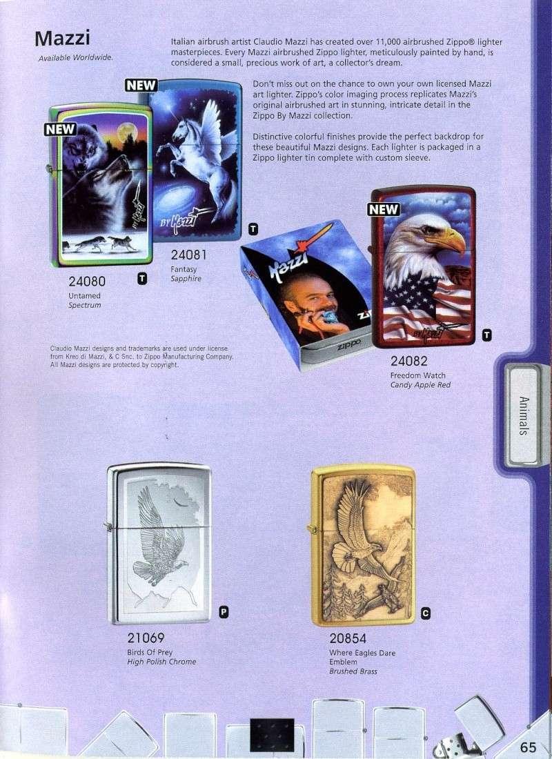 Catalogue ZIPPO 2008 Complete line (version américaine) 6510