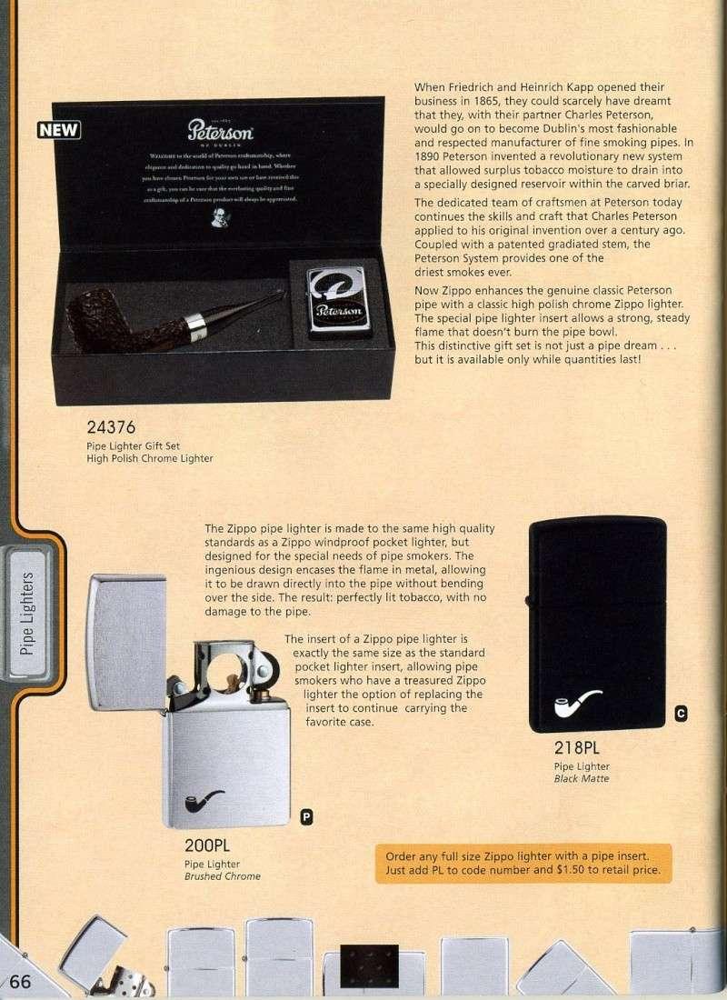 Catalogue ZIPPO 2008 Complete line (version américaine) 6610