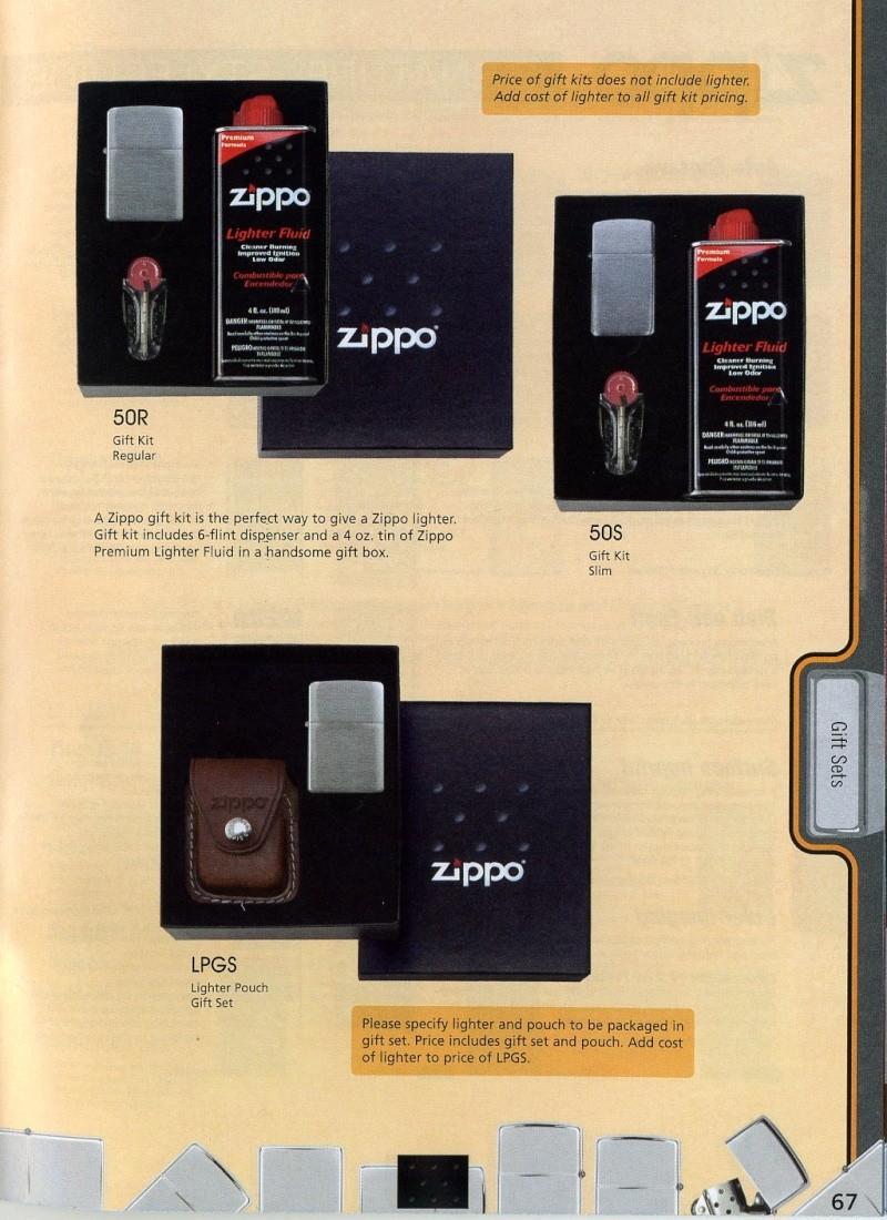 Catalogue ZIPPO 2008 Complete line (version américaine) 6710