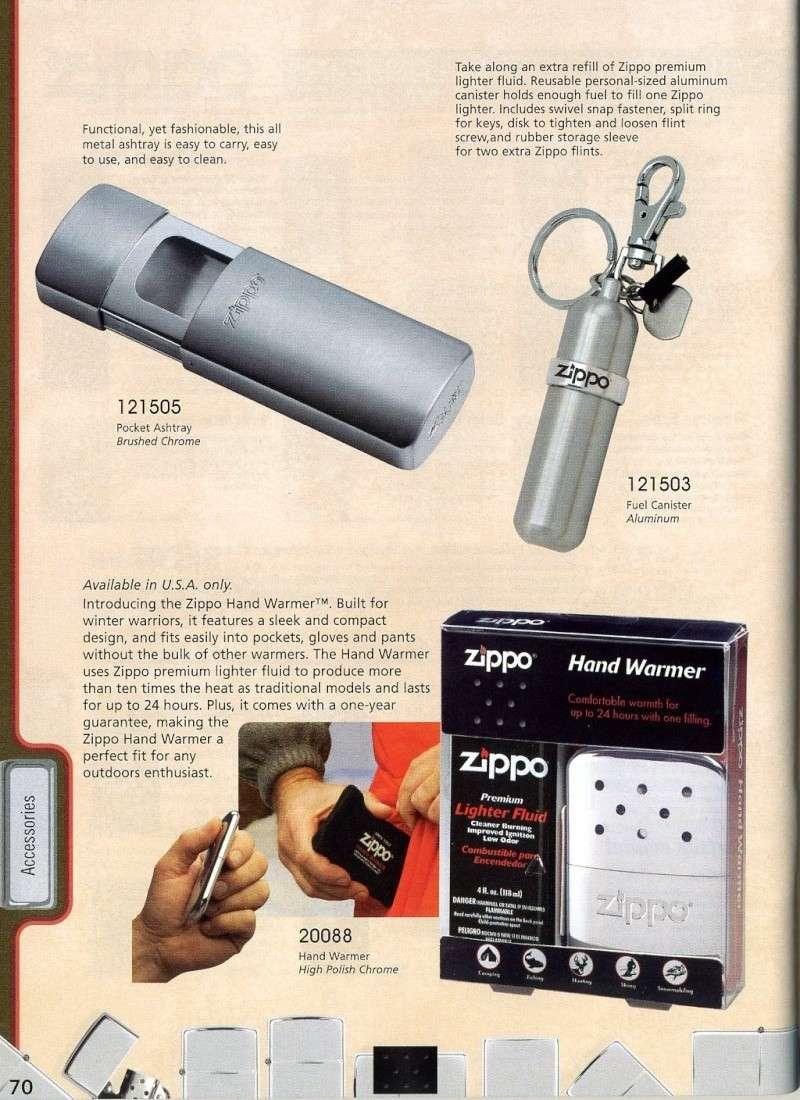Catalogue ZIPPO 2008 Complete line (version américaine) 7010
