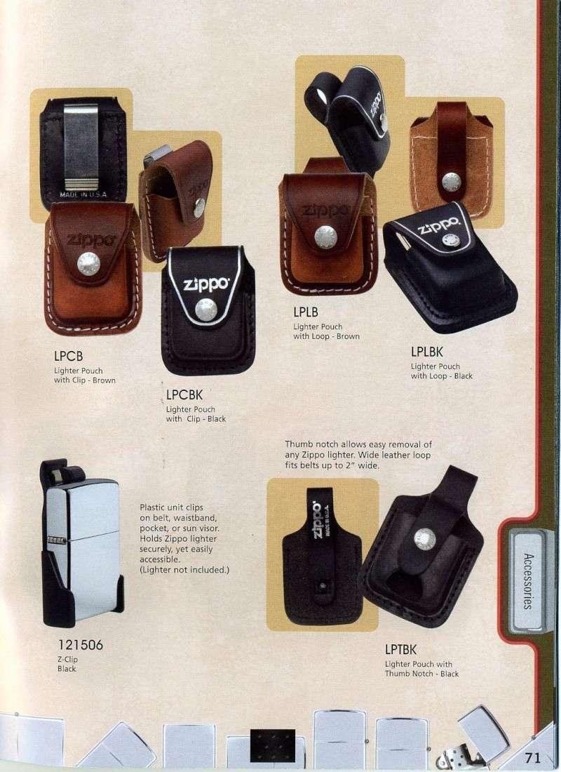 Catalogue ZIPPO 2008 Complete line (version américaine) 7110