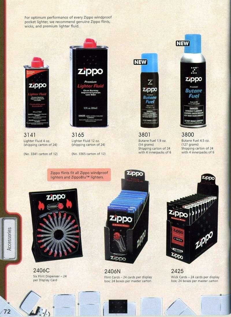 Catalogue ZIPPO 2008 Complete line (version américaine) 7210