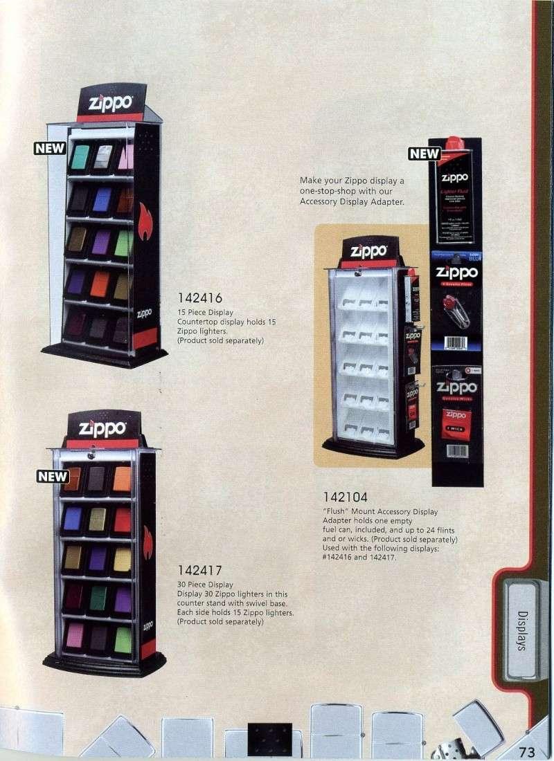 Catalogue ZIPPO 2008 Complete line (version américaine) 7310