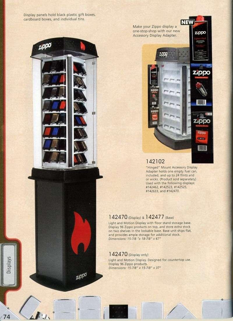 Catalogue ZIPPO 2008 Complete line (version américaine) 7410