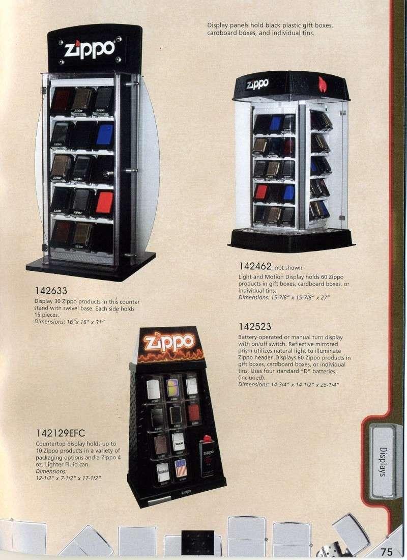 Catalogue ZIPPO 2008 Complete line (version américaine) 7510
