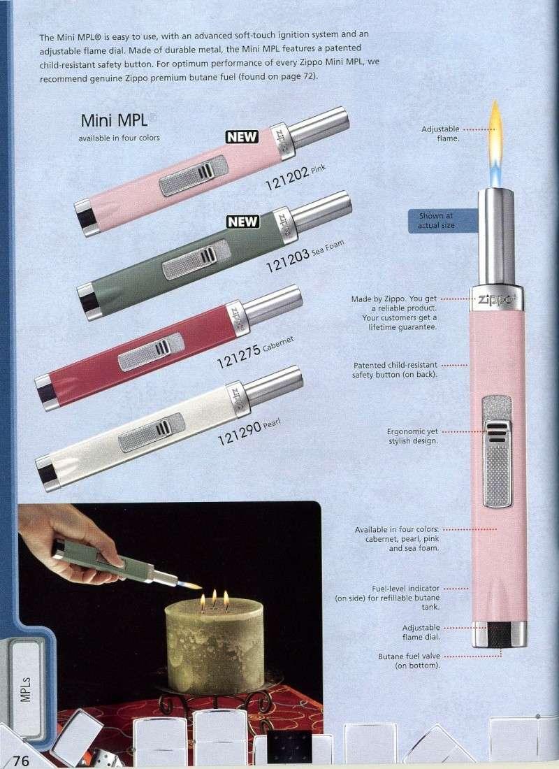 Catalogue ZIPPO 2008 Complete line (version américaine) 7610