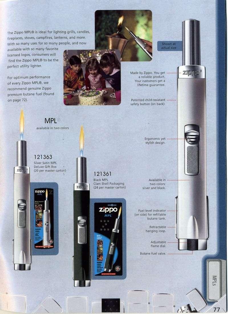 Catalogue ZIPPO 2008 Complete line (version américaine) 7710