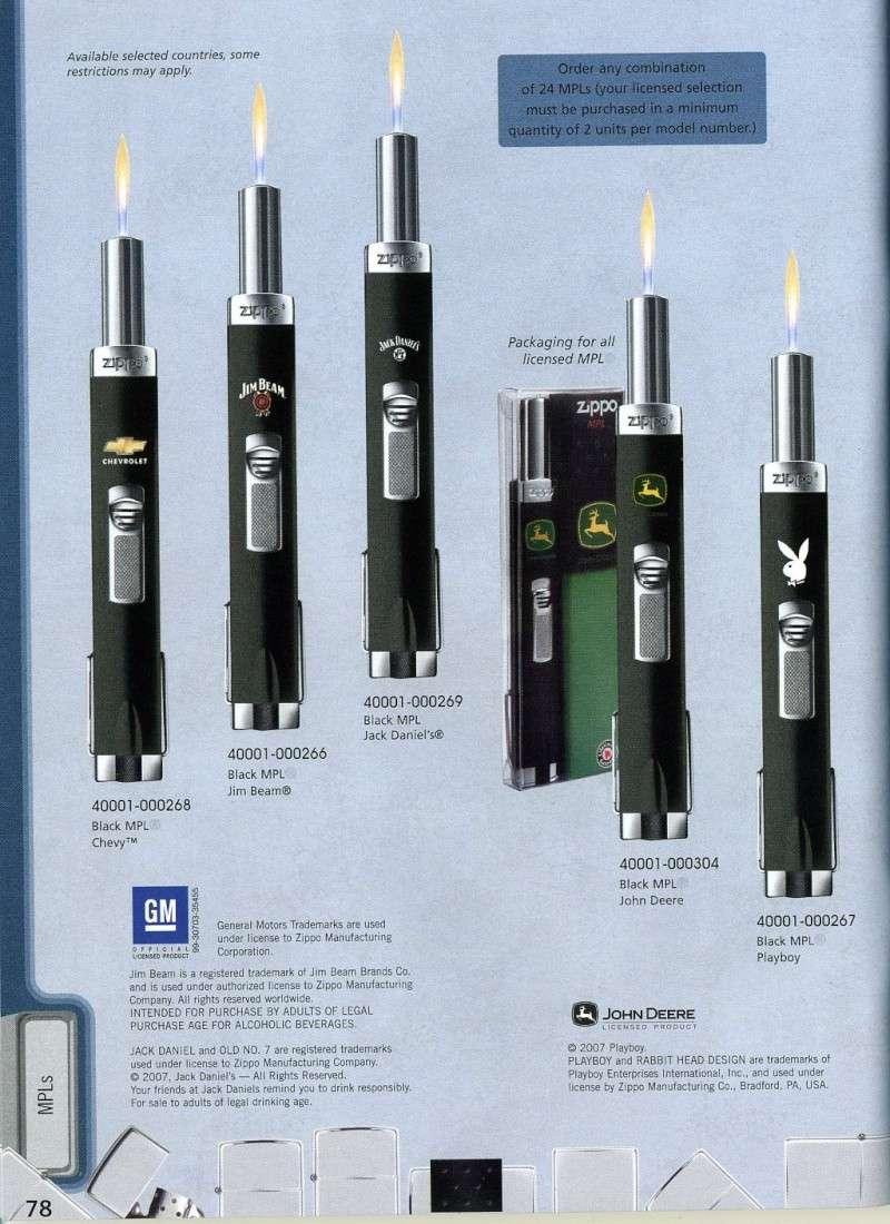 Catalogue ZIPPO 2008 Complete line (version américaine) 7810