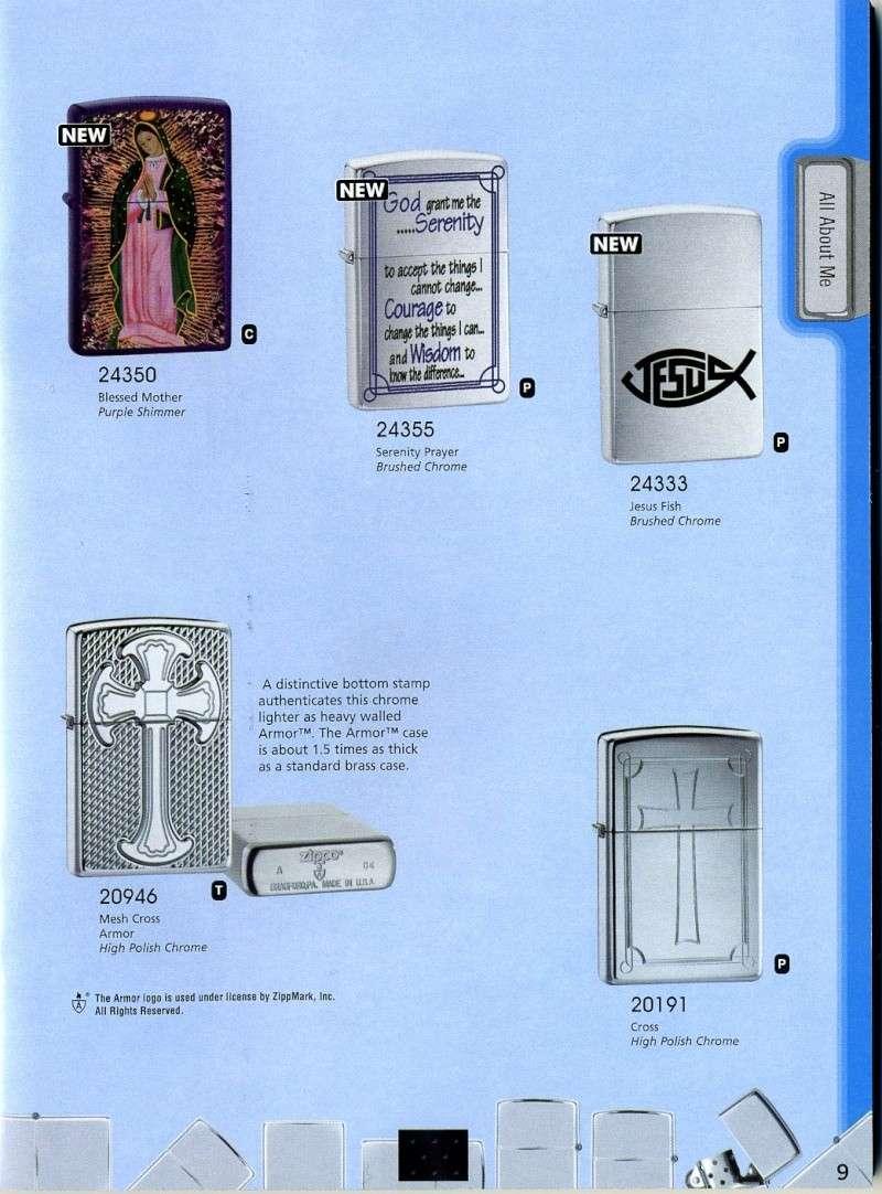 Catalogue ZIPPO 2008 Complete line (version américaine) 910