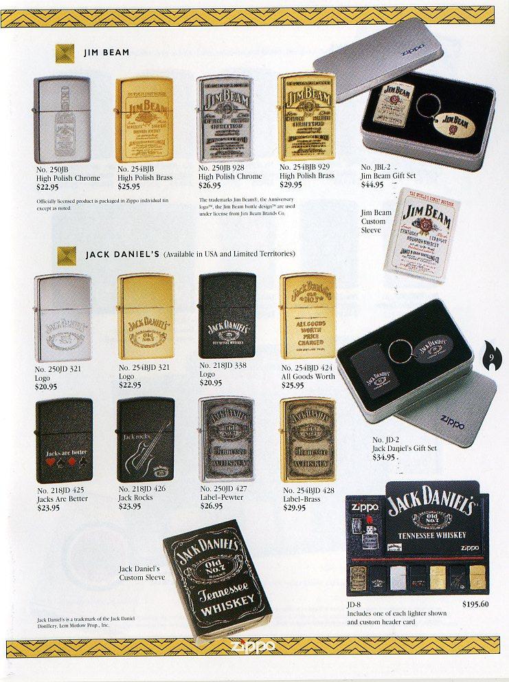 Catalogue ZIPPO Collection 1997 (version américaine) 911