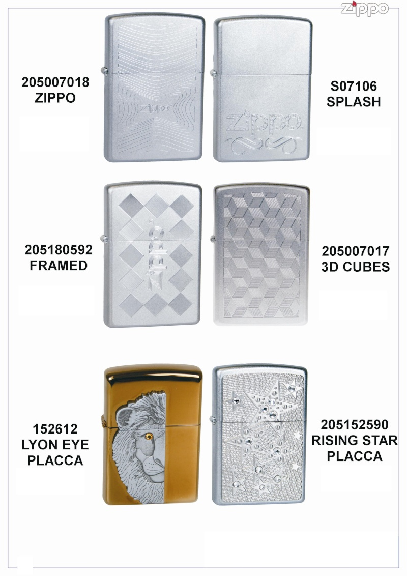 "Catalogue Zippo 2006 ""Special guest""(Italie) Catal102"