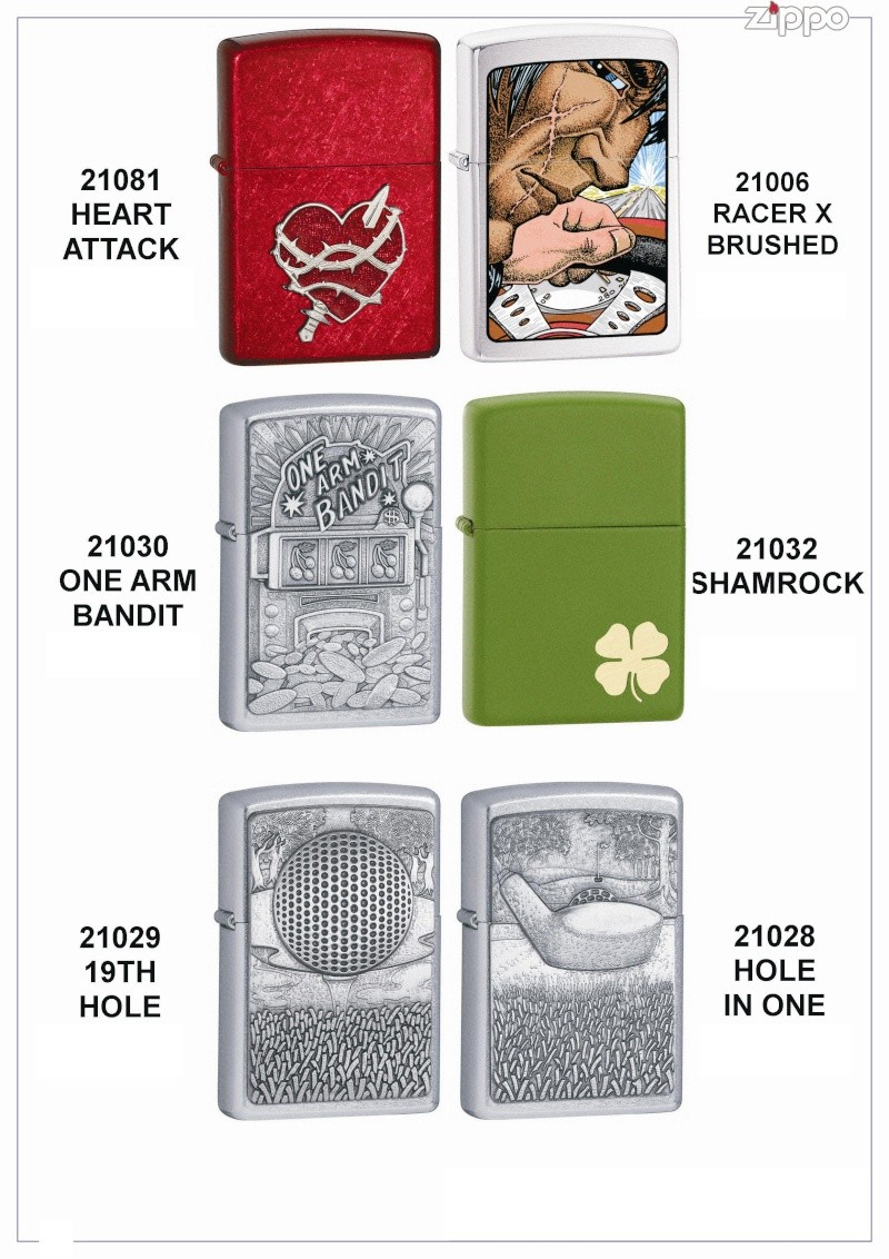 "Catalogue Zippo 2006 ""Special guest""(Italie) Catal108"