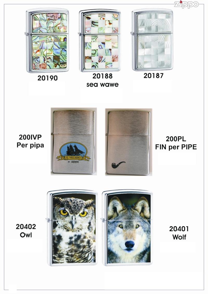 "Catalogue Zippo 2006 ""Special guest""(Italie) Catalo36"