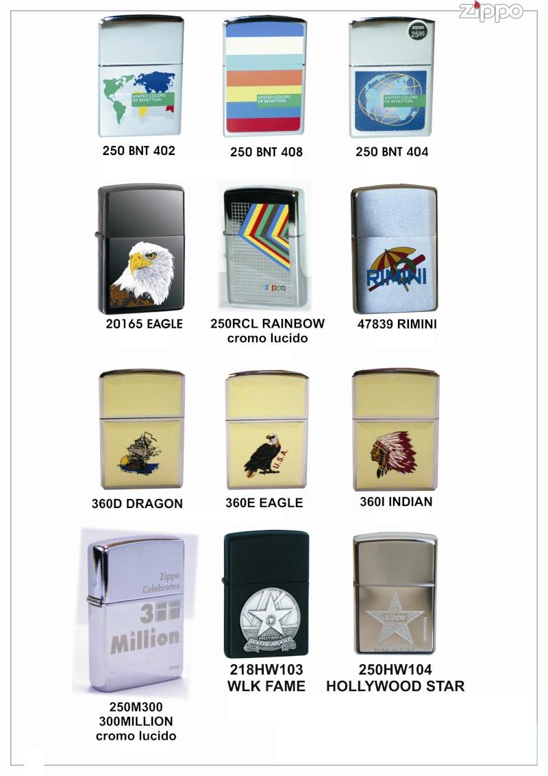 "Catalogue Zippo 2006 ""Special guest""(Italie) Catalo58"