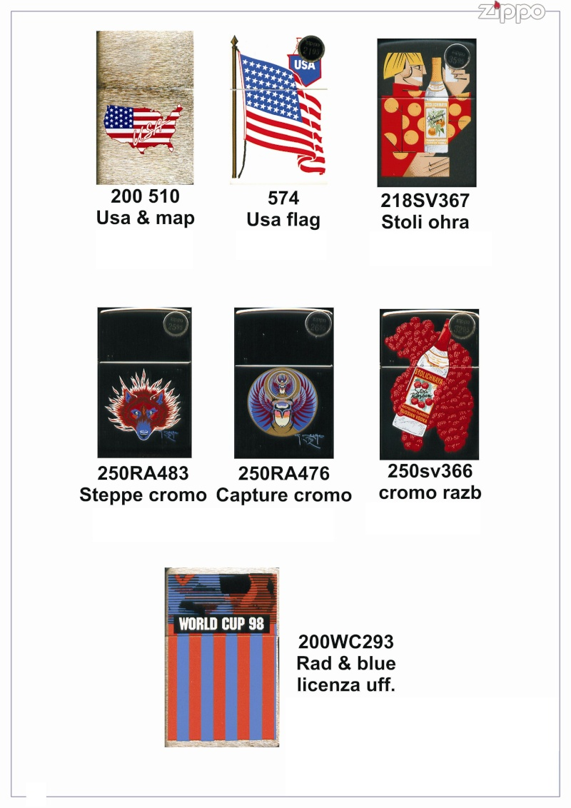 "Catalogue Zippo 2006 ""Special guest""(Italie) Catalo67"