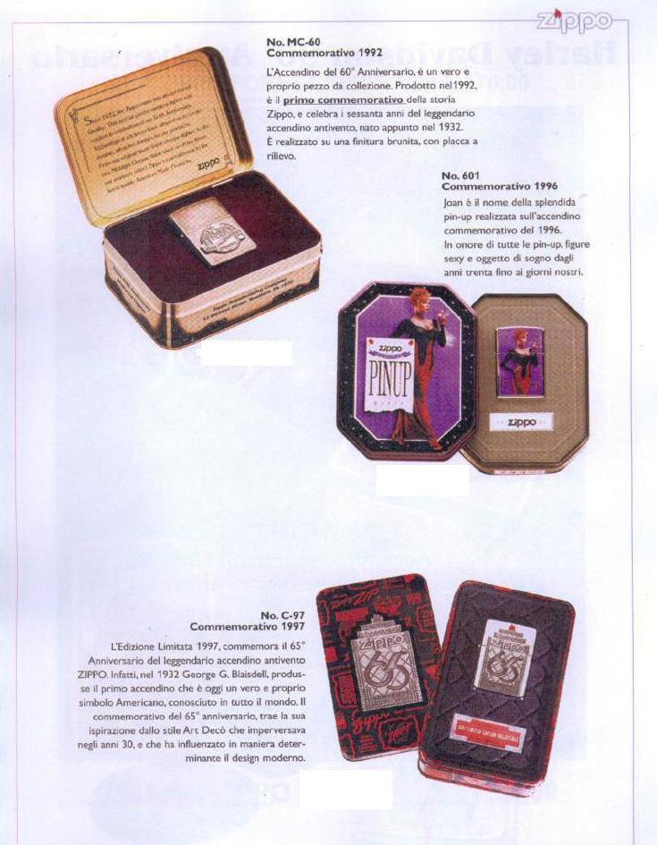 "Catalogue Zippo 2006 ""Special guest""(Italie) Catalo93"