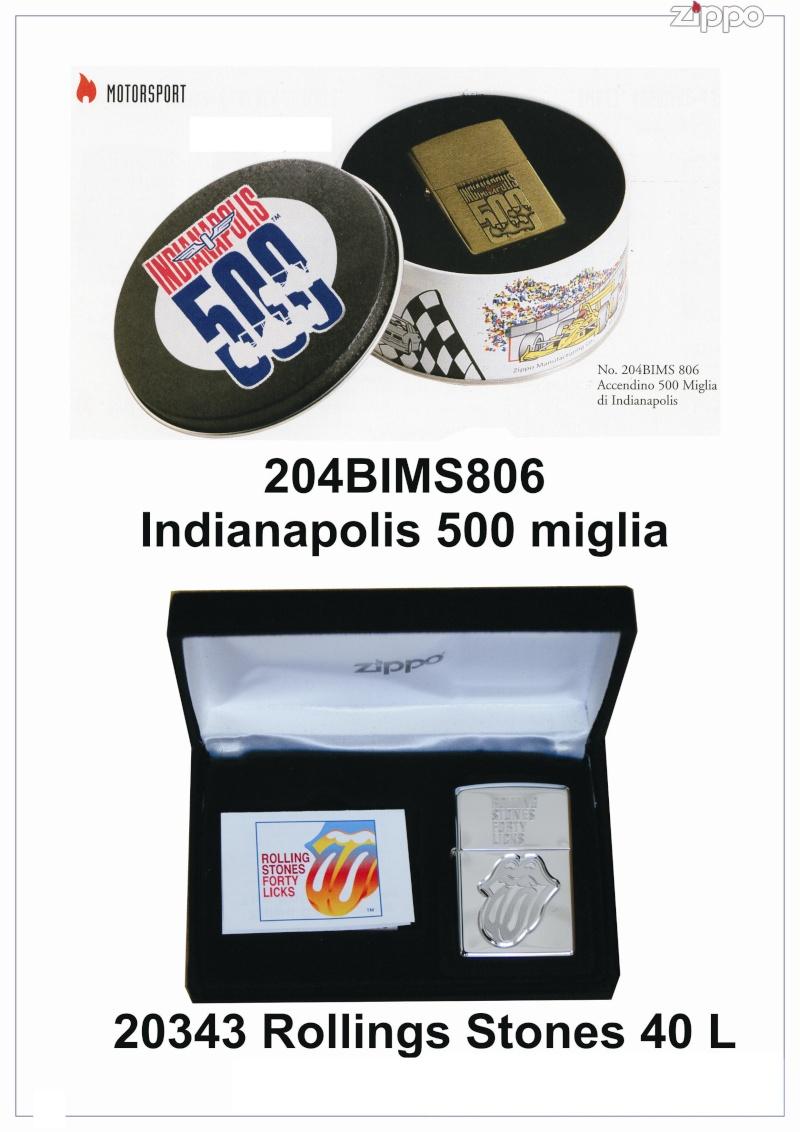 "Catalogue Zippo 2006 ""Special guest""(Italie) Catalo96"