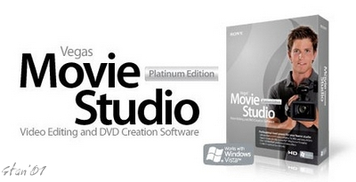Sony Vegas Movie Studio Platinum Edition v8.0c build 136 2007-110