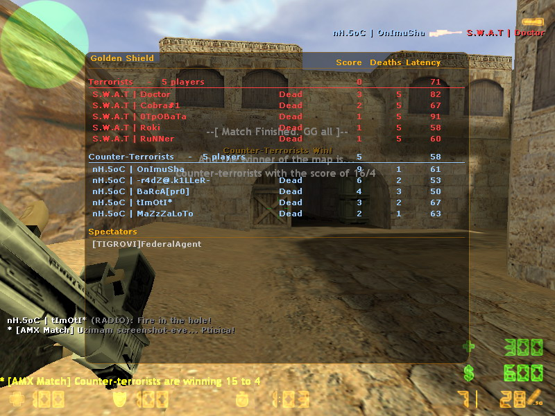 nH.5oC  vs  S.W.A.T De_dus11