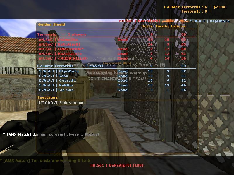 nH.5oC  vs  S.W.A.T De_inf10