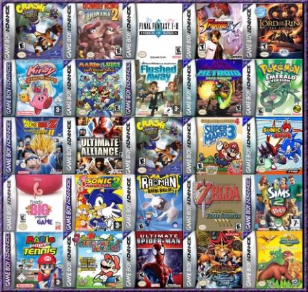50 juegos gba + trucos Boxmur10