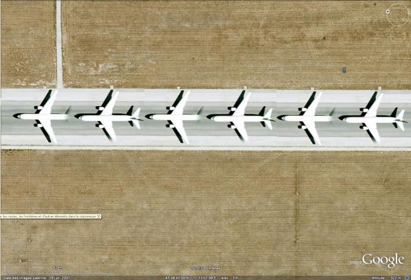 Les images doublées dans Google Earth [Bugs, collages] Avion_10