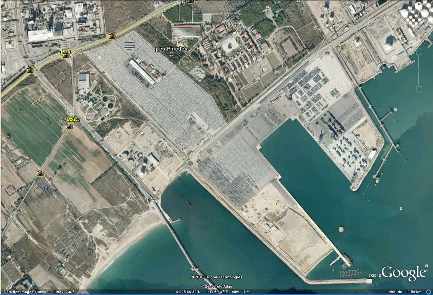 """plateforme d'import export automobile de """" Las Pinedes"""" à Tarragone, Espagne [Défi trouvé] - Page 2 Tarrag10"""